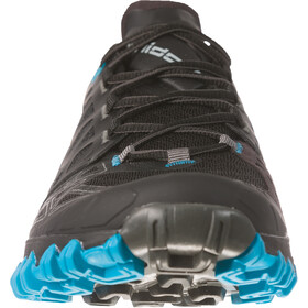 La Sportiva Bushido II Trail Running Shoes Herre black/tropic blue